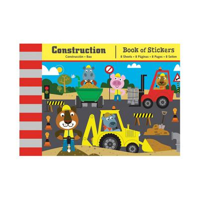Construction Book of Stickers By Sims, Sean (ILT)