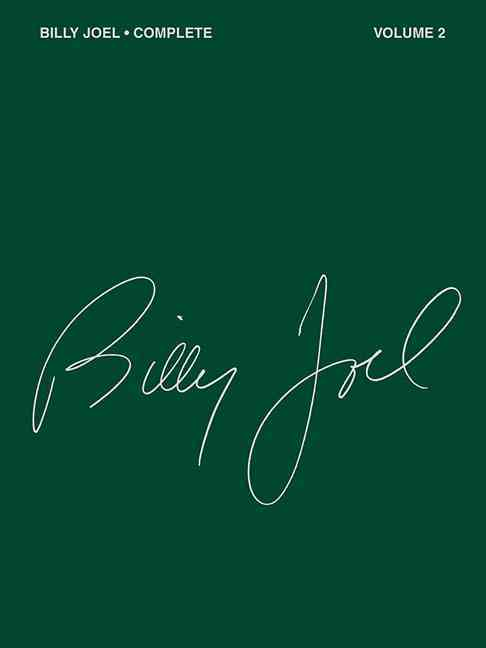 Billy Joel Complete By Hal Leonard Publishing Corporation
